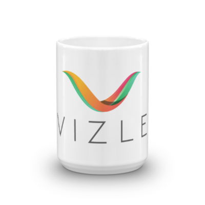 VIZLE Coffee Mug - 15oz (444ml)