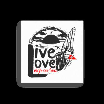 Live, Love, Leigh-on-Sea Canvas