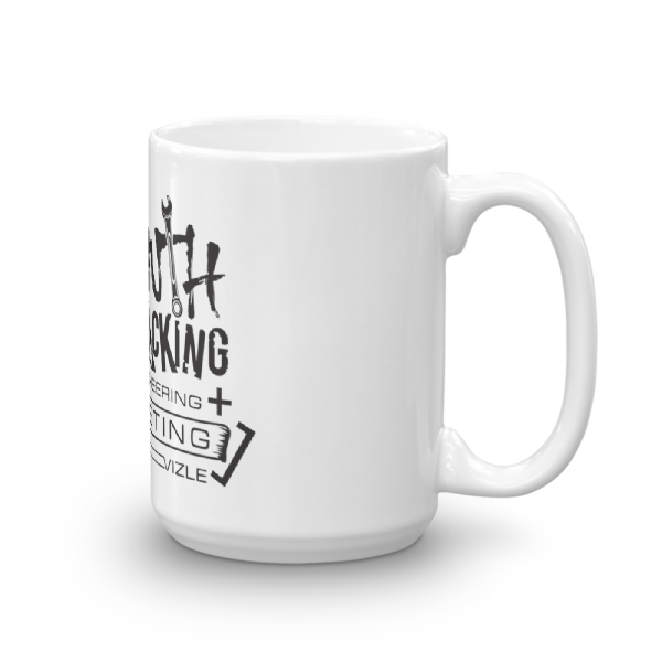 Growth Hacking = Engineering + Marketing Mug | 15oz (444ml)