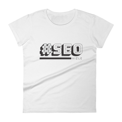 #SEO Women's Short Sleeve T-Shirt (White)
