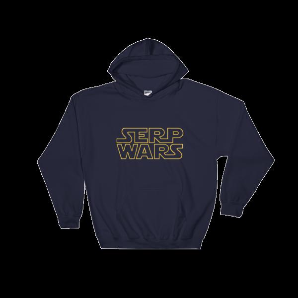 SERP WARS Hooded Sweatshirt - Navy