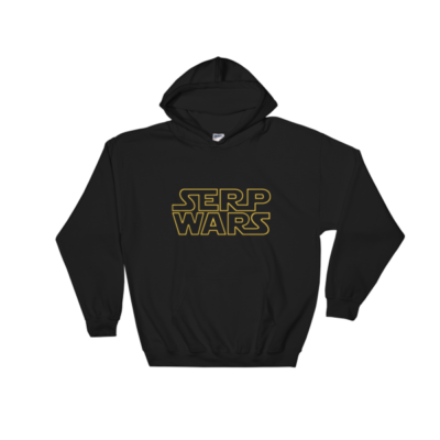 SERP WARS Hooded Sweatshirt - Black