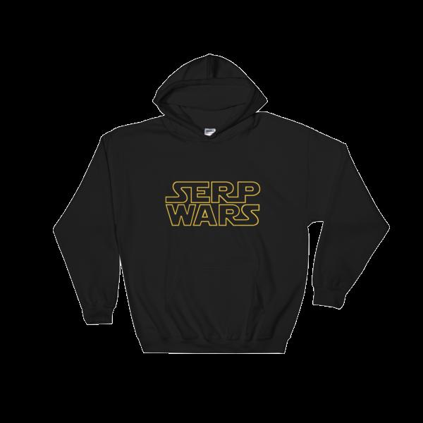 SERP WARS Hooded Sweatshirt - Black