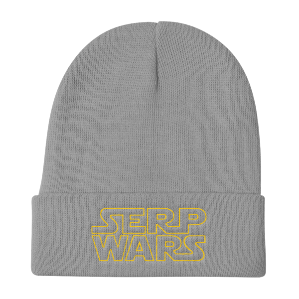 SERP WARS Knit Beanie - Grey