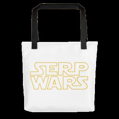 SERP WARS Tote Bag - Black Handle