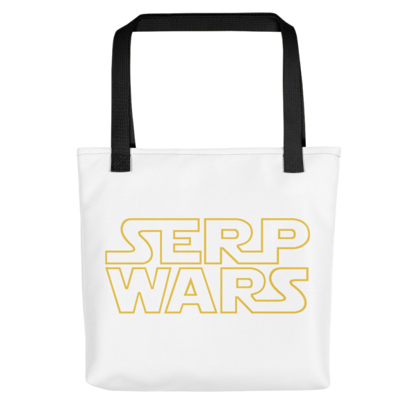 SERP WARS Tote Bag - Black Handle