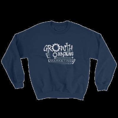 Growth Hacking = Engineering + Marketing Sweatshirt (Navy)
