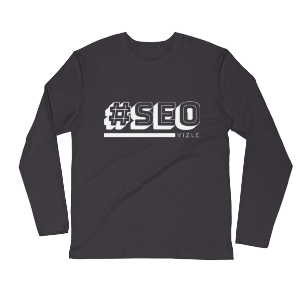 #SEO Long Sleeve Fitted Crew (Heavy Metal)