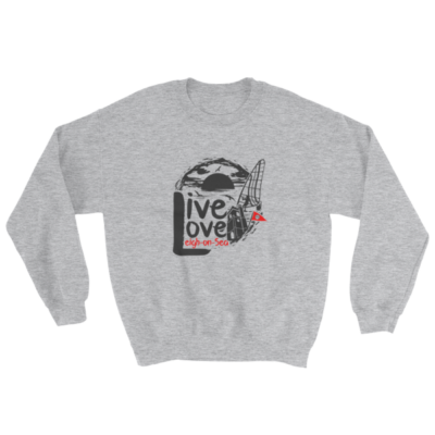 Live, Love, Leigh-on-Sea Grey Sweatshirt