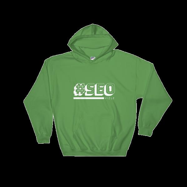 #SEO Hooded Sweatshirt (Irish Green)