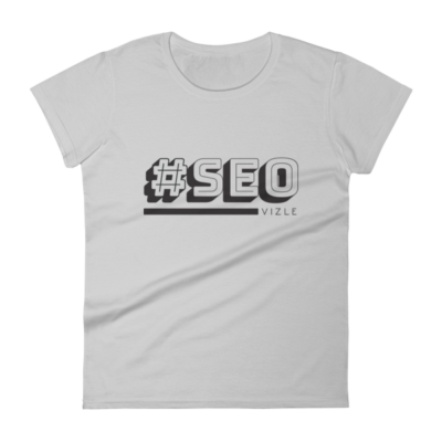 #SEO Women's Short Sleeve T-Shirt (Silver)