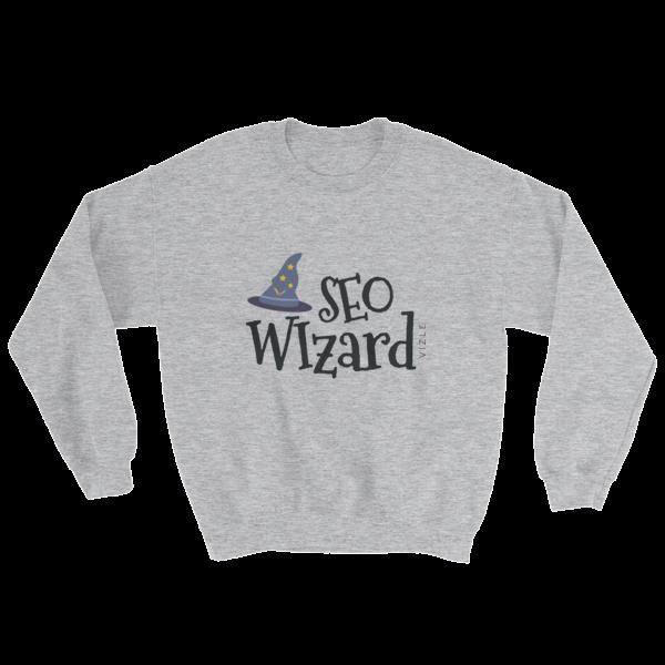 """SEO Wizard"" Sweatshirt (Sport Grey)"