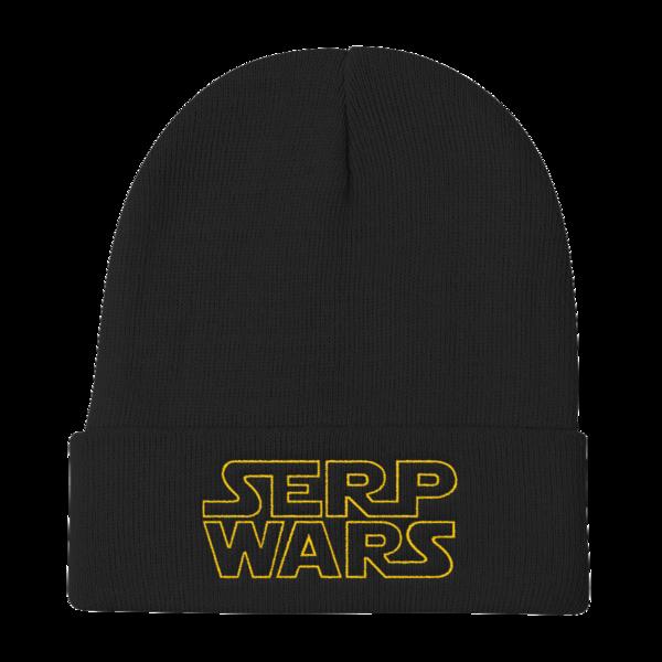 SERP WARS Knit Beanie - Black