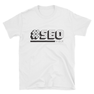 #SEO T-shirt (white)