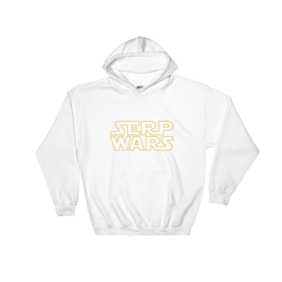 SERP WARS Hooded Sweatshirt - White