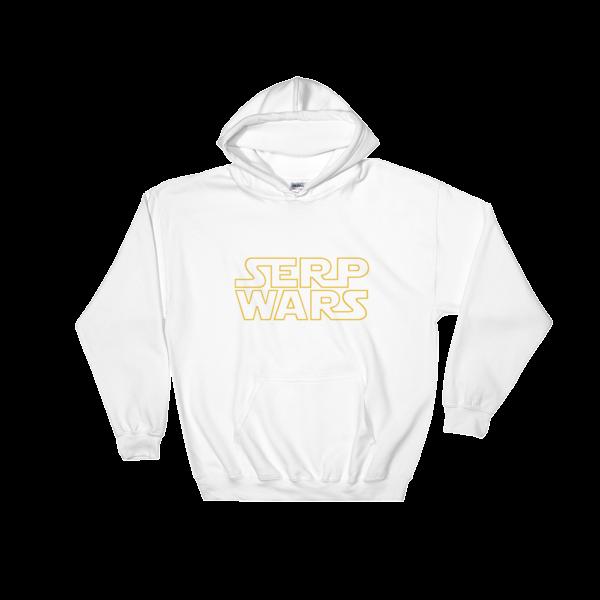 SERP WARS Hooded Sweatshirt - White
