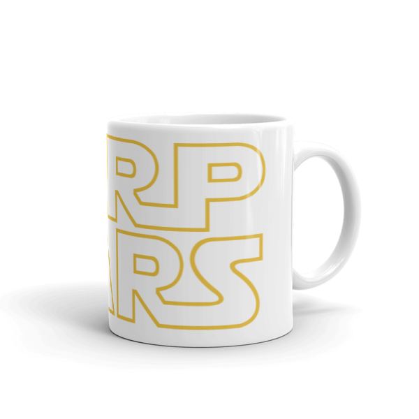 SERP WARS SEO Mug (yellow letters - 11oz)