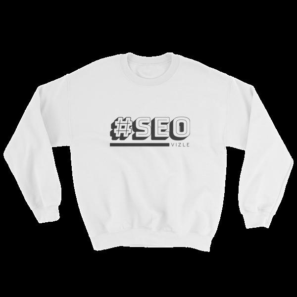 #SEO Sweatshirt (White)