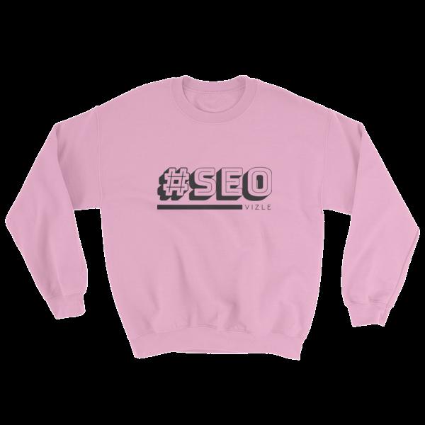 #SEO Sweatshirt (Light Pink)