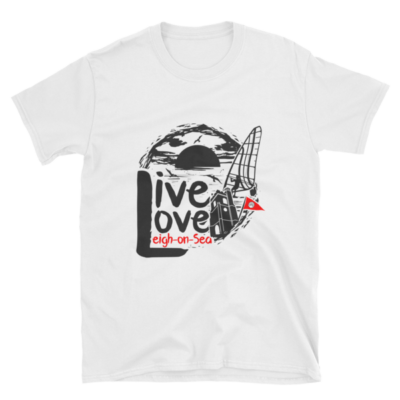 Live, Love, Leigh-on-Sea Short Sleeve T-Shirt