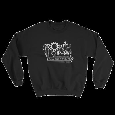 Growth Hacking = Engineering + Marketing Sweatshirt (Black)