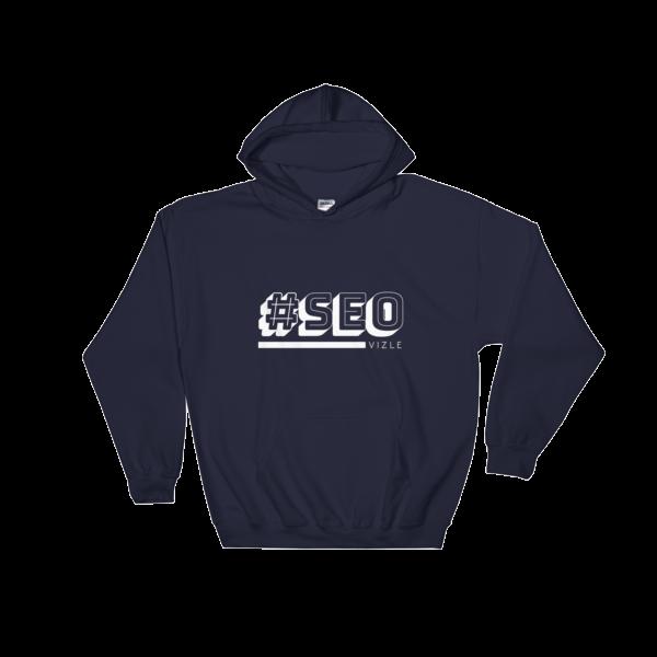 #SEO Hooded Sweatshirt (Navy)