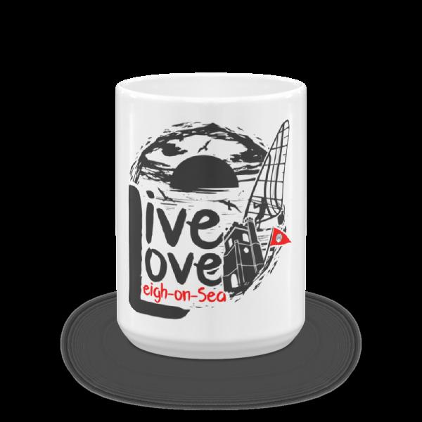 Live, Love, Leigh-on-Sea Coffee / Tea Mug (15oz)