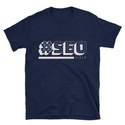 #SEO T-shirt (navy)