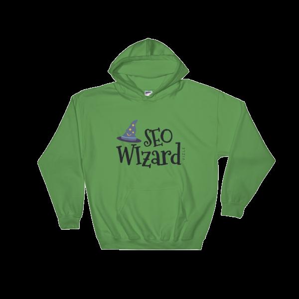 SEO Wizard Hooded Sweatshirt - Irish Green