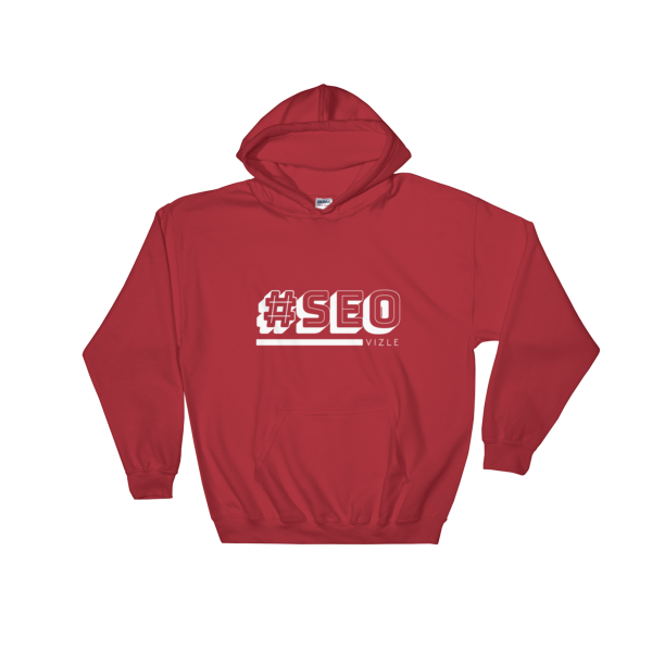 #SEO Hooded Sweatshirt (Red)