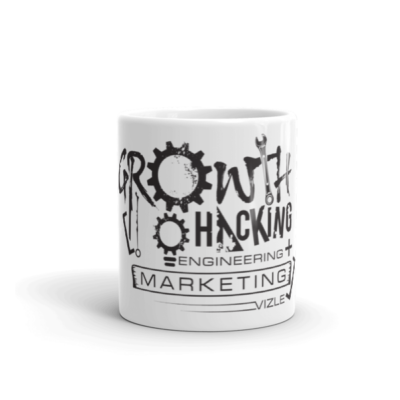 Growth Hacking = Engineering + Marketing Mug | 11oz (325ml)