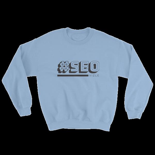 #SEO Sweatshirt (Light Blue)