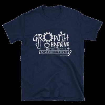 Growth Hacking = Engineering + Marketing T-Shirt (Navy)