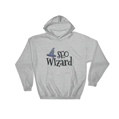 SEO Wizard Hooded Sweatshirt - Sport Grey