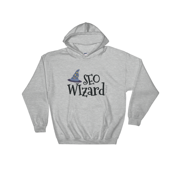 SEO Wizard Hooded Sweatshirt - Sport Grey