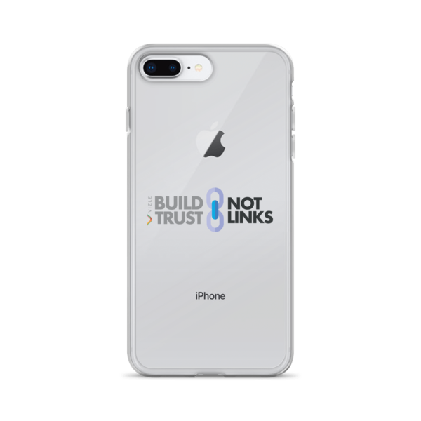 """Build Trust, Not Links"" iPhone Case"