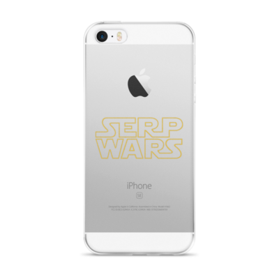 """SERP WARS"" iPhone Case"