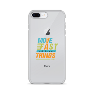 """""""Move Fast & Break Things"""" iPhone Case"""