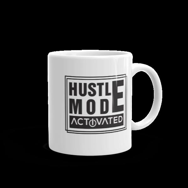 """Hustle Mode, Activated"" Mug (11oz)"