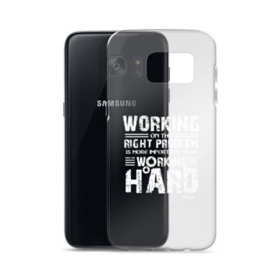 """""""Working on the Right Problem..."""" Samsung Phone Case"""