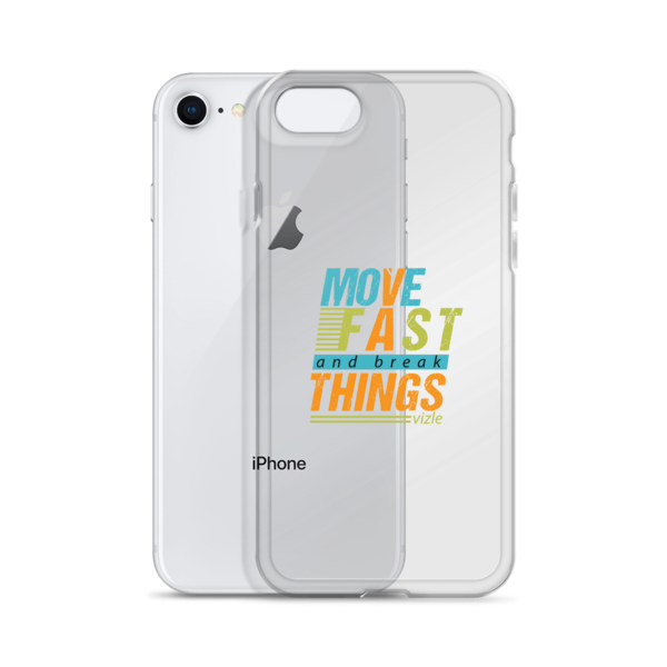 """Move Fast & Break Things"" iPhone Case"