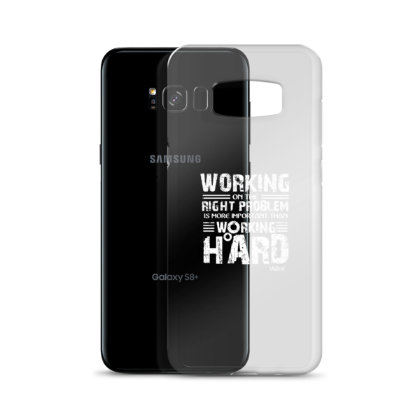 """Working on the Right Problem..."" Samsung Phone Case"