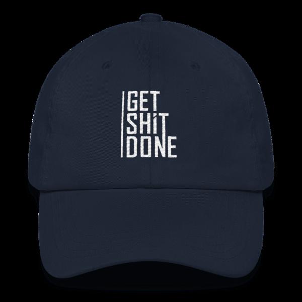 """Get Shit Done"" Hat, Aaron Levie (Navy)"
