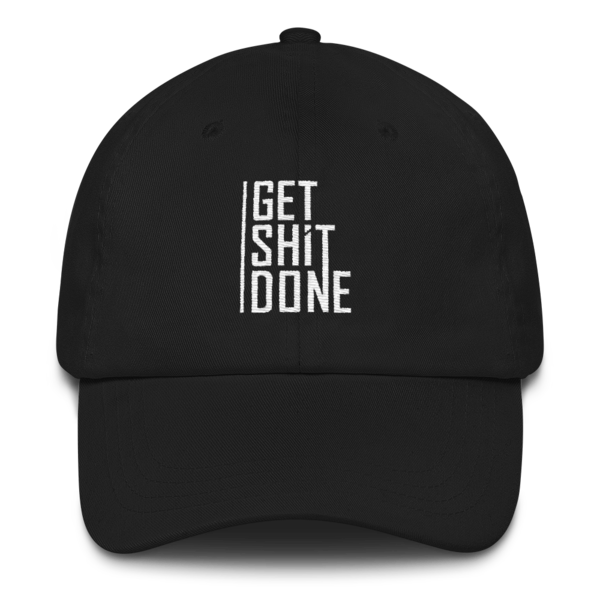 """Get Shit Done"" Hat, Aaron Levie (Black)"
