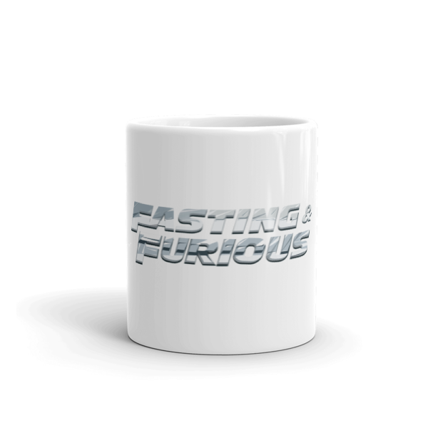 """Fasting & Furious"" Mug, Intermittent Fasting (IF)"