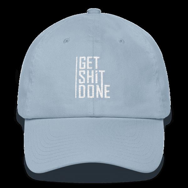 """Get Shit Done"" Hat, Aaron Levie (Light Blue)"