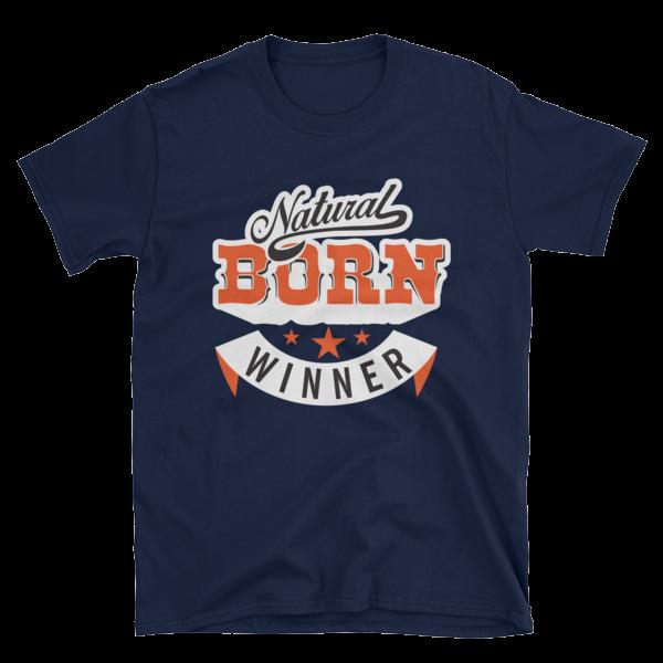 """Natural Born Winner"" T-Shirt (Navy)"
