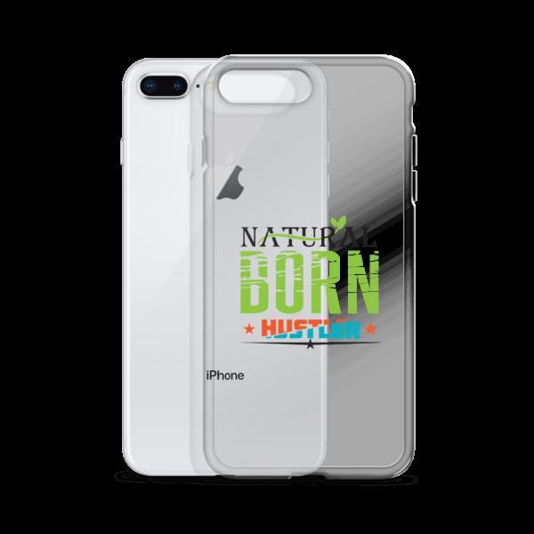 """Natural Born Hustler"" iPhone Case"