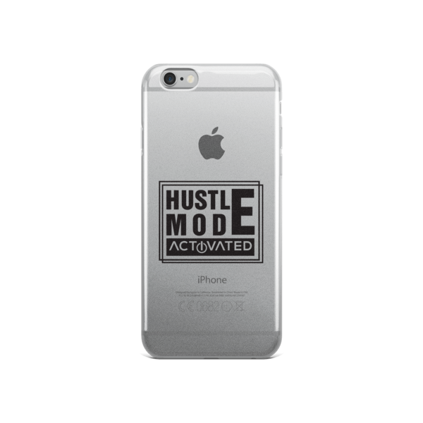 """Hustle Mode Activated"" iPhone Case"