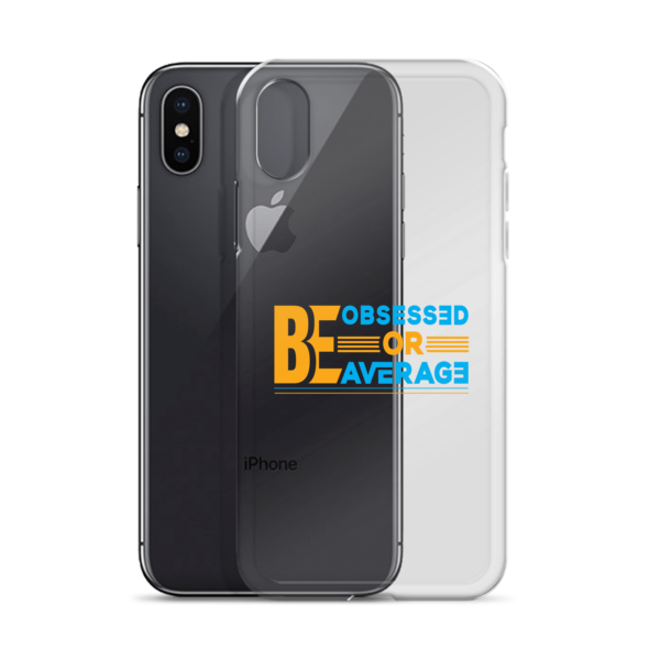 """Be Obsessed or Be Average"" iPhone Case"